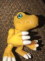 "Digimon Agumon  Action Feature 2 1/4 ""  Figure Bandai 2000 Series 2"