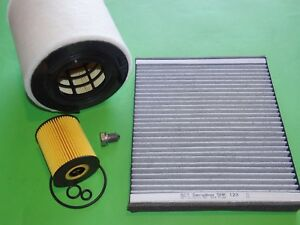 kl. Filterset Inspektionspaket Filtersatz VW Polo 6R 1.2 TDI 55kW/75PS