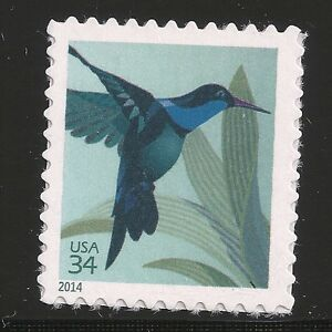 US Scott #4857, Single 2014 Hummingbird 34c VF MNH