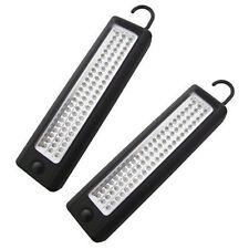 2 X 72 LED Lámpara de Inspección LED Luz Ultrabright Magnético Trabajo Luz Carpa Antorcha