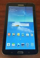 Samsung Galaxy Tab 3 SM-T217T 16GB, Wi-Fi + 4G T-Mobile (Unlocked), 7in - Black