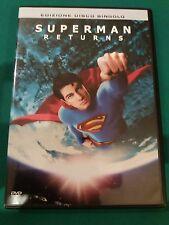 DVD SUPERMAN RETURNS COME NUOVO VISTO 1 SOLA VOLTA originale SIAE