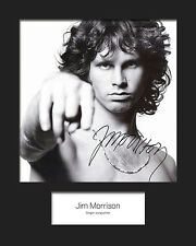 JIM MORRISON #1 (The Doors) Signed 10x8 Mounted Photo Print - FREE DELIVERY