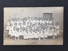 Vintage RPPC: Early 20c School Class #A94 Girl Choir Sent To Essex