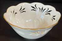"LENOX China WESTBURY Small Bowl 3"" x 6"" Discontinued MINT Condition"