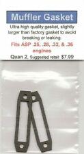 ASP .25, .28, .32, & .36 Exhaust/Muffler Gasket 2 Pack NIP