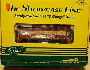 S Scale The Showcase Line #01249 SW-9 Frisco #1 305 Locomotive by S-Helper
