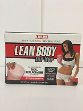 Labrada Nutrition Lean Body for Her, Strawberry - 20 Packets, exp 05/2020