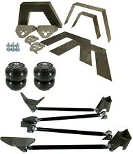 Rear Universal Weld On Kit 8 Frame Notch Triangulated 4 Link Slam Ss 7 Air Bags