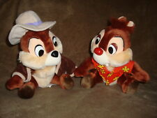 "Disneyland Walt Disney World Chip & Dale Chipmunks Rescue Rangers Plush 9"" tall"