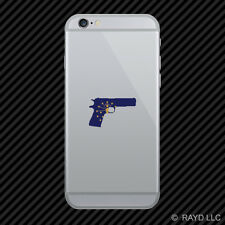 Indiana Flag 1911IN 2a gun rights molon labe pro Cell Phone Sticker Mobile