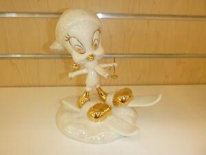 LENOX TWEETY SKIING Porcelain 5 3/4 Inches Figurine NIB