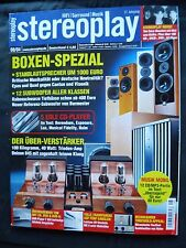 STEREOPLAY 8/04 CANTON AS 500SC,B&W AS 750,DYNAUDIO SUP 500,DALI SUITE S 1.2