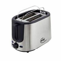 ELTA Toaster Silverline Edelstahl 7 Bräunungsstufen aufwärmen auftauen