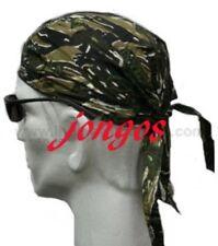 WOODLAND CAMO  COTTON Bandana DURAG headwrap Skull Cap USA design
