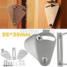 Pull Steel Lock for Sliding Barn Wood Door Gate Garage Latch Hardware 55x35mm