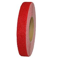 PVC NASTRO ANTISCIVOLO ADESIVO 25mm rosso autoadesivo Scale Anti-slip strisce