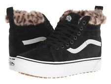 Vans SK8 HI PLATFORM MTE Black/Leopard Fur Women's Shoes Size 6