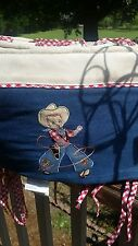 Western Cowboy  Crib Bumpers Bumper Pads New Miller Home Fashions