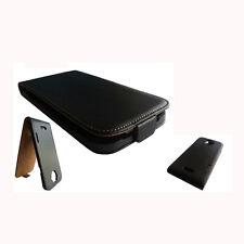HTC ONE X TASCHE SCHUTZ HÜLLE SCHUTZHÜLLE CASE COVER HANDY Magnet FLIP NEU BLACK