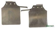 Rear Mudflap Set with Brackets (Pair) - Defender 110 CAT500350 & CAT500340PMA
