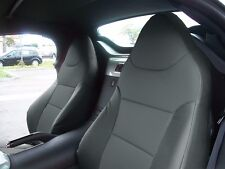 PONTIAC SOLSTICE CHARCOAL LEATHER-LIKE CUSTOM MADE FIT FRONT SEAT COVER