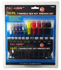 Allen Wrench T Handle Set SAE and Metric w/ Holders 20-pc set