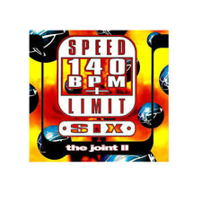 SPEED 140 BPM Limit Six the joint II music CD **NEW** 1995 Blue Room