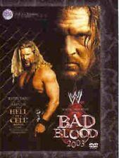 WWE: Bad Blood 2003 DVD (2003) Triple H