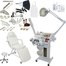 14 in 1 MicroDermabrasion Facial Machine Stationary Bed Table Salon Equipment