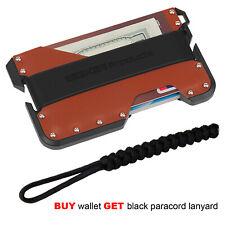 Slim RFID Blocking Credit Card Holder wallet minimalist Wallet for Men&women