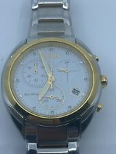 Citizen Eco-Drive FB1394-52A Two-Tone Celestial Analog Display Women's Watch