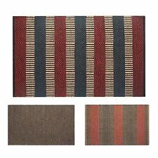 Jute Striped Rug & Carpet Runners