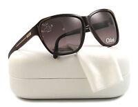 NEW Chloe Sunglasses CL 2209 Plum CO4 CL2209 60mm