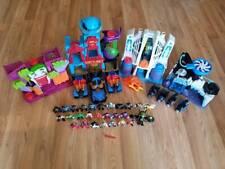 HUGE LOT Imaginext DC Comics Joker Funhouse Hall of Justice Playsets + Figures