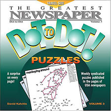 The Greatest Newspaper Dot-to-Dot Puzzles, Vol. 3