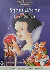 SNOW WHITE AND THE SEVEN DWARFS – WALT DISNEY Classic (DvD Region 4, 2001)