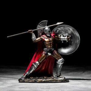 Sparta Statue Resin Figure Sculpture European Retro Ornaments Gladiator Model