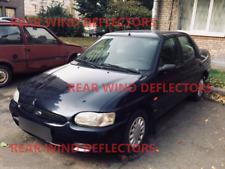 Ford Escort mk7 liftback 1990-2001 REAR set Wind Deflectors TINTED RAIN GUARDS