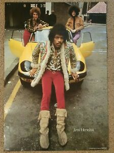 Vintage Jimi Hendrix Experience Poster -  great picture!