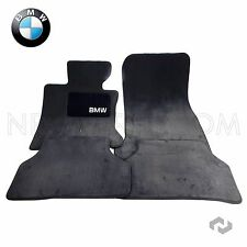 BMW E60 525i 535i 545i 550i Front & Rear Black Super Plush Carpet Floor Mat Set