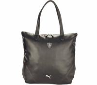2e17ebb4679 PUMA PMMO1033BLK FERRARI LS SHOPPER Black Polyurethane Shopper Bag