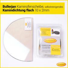 Kaminglas Ofen feuerfestes Glas selbstreinigend passend für Kamin Bullerjan 02