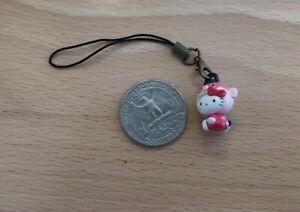BN Sanrio Hello Kitty 3D charm phone strap lariat ornament - fish (lo)