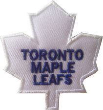 New NHL Toronto Maple Leafs Logo embroidered iron on patch. 3 x 3.15 inch (IB28)