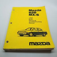 1995 Mazda Mx 3 Wiring Diagram Body Electrical Troubleshooting Manual 2 Book Ebay