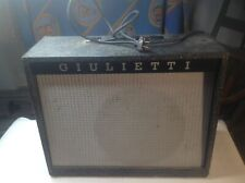 Giulietti amp/ amplifier vintage working condition model S-8 no resrve!