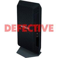 DEFECTIVE NetGear CM600 (24x8) DOCSIS 3.0 Cable Modem - Black