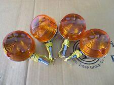SUZUKI A100 GT100 TS100 TS125 TS185 TS250 FRONT & REAR SIGNAL 4Pcs. 12V.