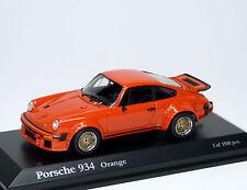 Porsche 934 ( Turbo RSR ) 930 - orange arancione alaranjado - Kyosho 1:43